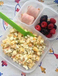 GF Cauliflower Crunch Salad for Work   packed in @EasyLunchboxes