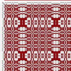 draft image: Threading Draft from Divisional Profile, Tieup: Crackle Design Project, Draft #13289, 4S, 4T Weaving Designs, Weaving Projects, Weaving Patterns, Textile Patterns, Tablet Weaving, Weaving Art, Loom Weaving, Hand Weaving, Swedish Weaving