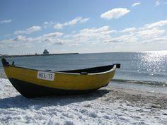 beach fishing boat Hel Poland Baltic Sea winter łódź rybacka zima Baltic Sea, Fishing Boats, Poland, Live, Beach, Winter, Ships, Winter Time, The Beach