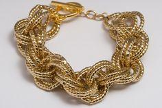 Gorjana Harbor Chain Bracelet (Gorjana Website:  http://www.gorjana-griffin.com/gorjana/)