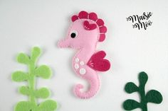 Seahorse Pattern Felt Seahorse SVG Seahorse Plush Seahorse Mobile Felt Pattern Seahorse Ornament Seahorse Party Seahorse Toy Under the Sea Felt Embroidery, Hand Embroidery Patterns, Embroidery For Beginners, Sewing For Beginners, Felt Patterns, Sewing Patterns, Sewing Ideas, Block Patterns, Sewing Tips