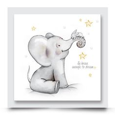 ELEPHANT, BUNNY & STARS nursery artwork for a girl or boys room. This cute watercolour wall art works on its own or will be complimented beautifully by any other of Madi & Cleo's artwork within its collection. You are also able to customise this design with your child's name or change the balloon colour. Customise and order your artwork today at http://www.madicleo.com/collections/vendors?q=Eli%20%26%20Bunny%20Collection