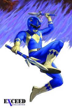 Blue Ranger by Nick Robles #SonGokuKakarot