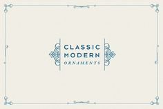 Classic Modern Ornaments by Sirmon Stuff on Creative Market