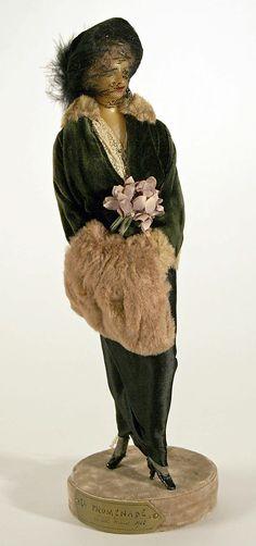 Lafitte Desirat Wax Fashion Doll - 1909-1914