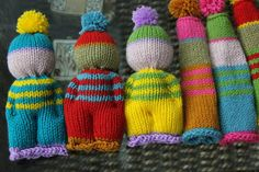 homemade@myplace: Knitted party favours!!!!