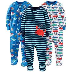 3er-Pack und Spielanzug aus Baumwolle Simple Joys by Carters Baby Schlaf