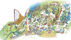 Park Map | Dorney Park, Lehigh Valley PA