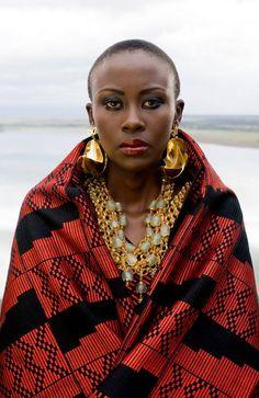 Joseph Hunwick's FASHION FOR PEACE Photoshoot in Kenya - African Designers & Models .