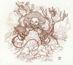 Imp Sketch By Rosie Lauren Smith