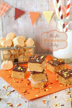 Maple Pumpkin Fudge on MyRecipeMagic.com
