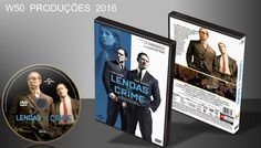 Lendas Do Crime - DVD 1 - ➨ Vitrine - Galeria De Capas - MundoNet | Capas & Labels Customizados