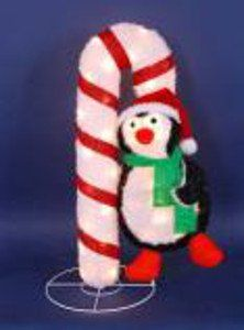 Lighted Candy Cane Decorations Holiday Time 4Count Candy Cane Pathway Christmas Lights