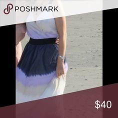 Express maxi dress Beautiful summer colors, worn once. Express Dresses Maxi