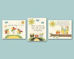 Baby Room Decor Nursery Art gender neutral prints by DesignByMaya, $50.00