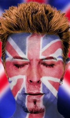 David Bowie - Union flag