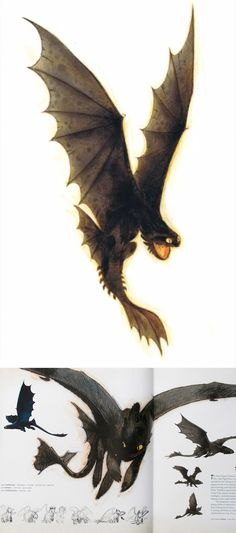How To Train Your Dragon concept art by Simon Otto