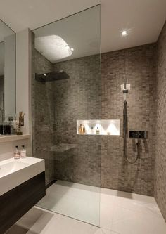 Thinking of building a bathroom in your basement? You'll need to come up with really classy basement bathroom ideas so that you can enjoy yourself in peace soaking in the bathtub! #BasementBathroom #Basement #Bathroom
