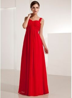 Evening Dresses - $125.99 - Empire Sweetheart Floor-Length Chiffon Evening Dress With Ruffle  http://www.dressfirst.com/Empire-Sweetheart-Floor-Length-Chiffon-Evening-Dress-With-Ruffle-017021123-g21123