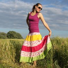 Dlouhá sukně, vel. M Summer Dresses, Fashion, Moda, Summer Sundresses, Fashion Styles, Fashion Illustrations, Summer Clothing, Summertime Outfits, Summer Outfit