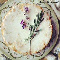 Celebrate the warm weather with this Rosemary & Lemon Cake! Perfect with afternoon tea or as an after dinner delight.