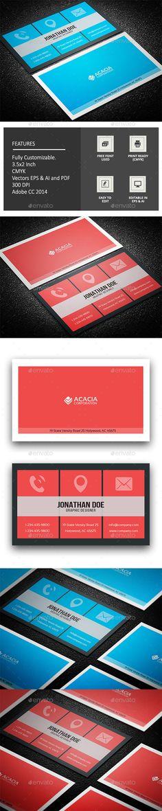 Blank Business Cards, Minimal Business Card, Printable Business Cards, Business Card Design, Corporate Business, Anchors, Design Templates, Card Templates, Logo Branding