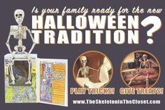 The Skeleton In The Closet® - A Halloween Tradition.™ Playing Tricks... -- ALTAMONTE SPRINGS, Fla., Sept. 21, 2015 /PRNewswire/ --