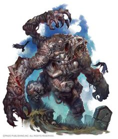 Gluttoner by caiomm on DeviantArt Cool Monsters, Dnd Monsters, Horror Monsters, Monster Concept Art, Fantasy Monster, Monster Art, Fantasy Rpg, Dark Fantasy Art, Fantasy Artwork
