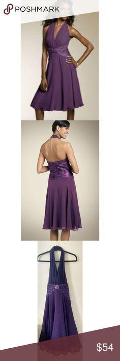 332143a4b6 🎉HP NWT Maggy London Silk Halter Dress Size 10 This beautiful silk halter  dress is