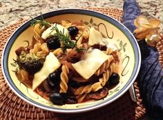 Balsamic Mushroom & Broccoli Pasta