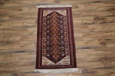 Animal-Pictorial-Tribal-3x5-Balouch-Persian-Oriental-Area-Rug-5-039-0-039-039-x-2-039-8-039-039
