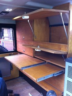 Dokumentierung Innenausbau aus Holz für den Land Rover Defender (Landy).