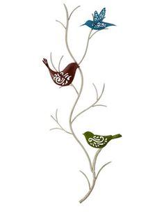 Bird Metal Wall Art