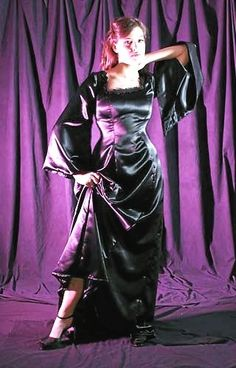 Silk Satin Dress, Satin Skirt, Satin Dresses, Maid Dress, Dress Robes, Dress Skirt, Beautiful Long Dresses, Pretty Dresses, Western Wear For Women