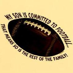 Football Mom T-Shirt for