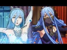 Fire Emblem Fates - Azura's Dance - Hoshido & Nohr Versions Cutscenes (English) - YouTube