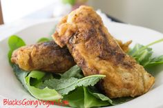 Delicious tender and juicy but crispy on the outside vegan fried chick'n. Get the taste without the cholesterol, hormones or animal flesh.