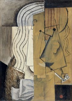 'Head of a Man' (1913) by Pablo Picasso