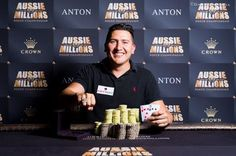 At 2017 Aussie Millions, Rodrigo Menses Wins $1,650 No-Limit Hold'em Bounty for AUD$119,500m, While Shane Warne Survives Day 1 of the Main Event.