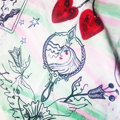 Mirror mirror.... Reflection/Self-reflection 💞 . . . #printisnotdead#printspotters#pattern#patternmaking#textiledesign#surfacedesign#surfacepatterndesign#surfacepatterncommunity#patternobserver#patternlove#patterndesigner#repeatpattern#patternlover#textileartist#hcgordon#heattransferprint#mirror#sleepingbeauty#floralillustration#floralpattern#printandpattern#printstudio #printisntdead #printspotters Mirror Mirror, Otters, Reflection, Tattoos, Animals, Tatuajes, Otter, Animaux, Tattoo