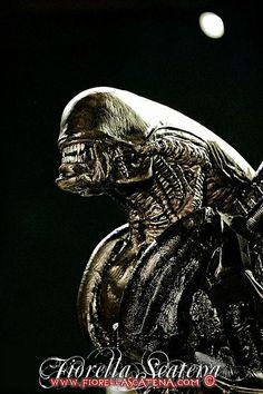 alien hr giger | ALIEN & HR GIGER - WORLD BODYPAINTING FESTIVAL 2012 | Flickr - Photo ...