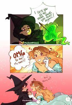 Funny fairytale comics: so a witch curses a princess that wronged her but… © Lgbt Memes, Funny Memes, Lgbt Quotes, Character Art, Character Design, Film Disney, Lgbt Love, Funny Comics, Gay Comics