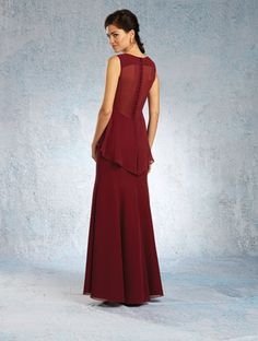 ALFRED ANGELO Bridesmaids 2015 Collection, Style 7341L. #BestForBride