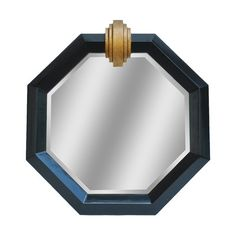 New Deco Medallion Shiny Accent Mirror by top rated furniture sale. Fashion is a popular style Mirrored Picture Frames, Art Deco Mirror, Mirrors Wayfair, Cool Mirrors, Drum Chandelier, Beveled Mirror, Black Mirror, Black Decor, Colored Glass