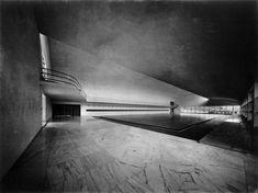 Luigi Moretti - Casa delle Armi a Roma, Italy - Amazing Architecture, Architecture Details, Interior Architecture, Interior And Exterior, Luigi, Bauhaus, Fascist Architecture, Richard Rogers, Art Deco