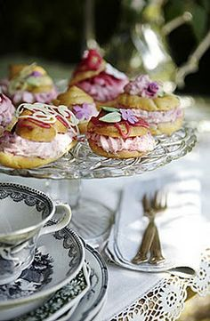 beautiful pastries