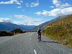 Fahrradfahren in Neuseeland
