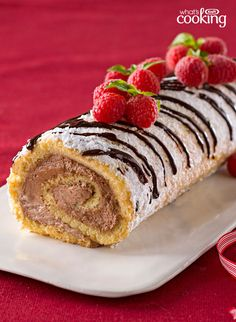 Holiday Cake Roll #recipe