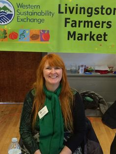 WSE's booth, WSE's 2015 Holiday Farmers Market
