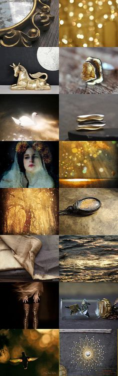 Gold Dust by Gayle on Etsy--Pinned with TreasuryPin.com